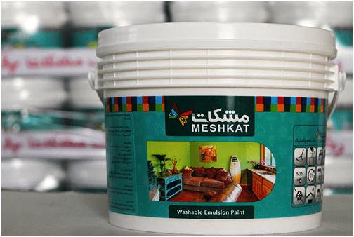 فروش عمده رنگ اکریلیک مشکات