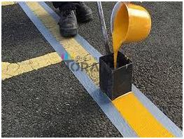 فروش عمده رنگ ترافیکی زرد