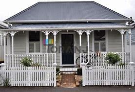 شماتیکی از رنگ نمای ساختمان ویلایی